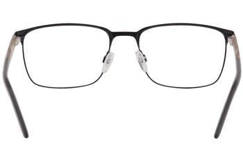 Jaguar Mens Eyeglasses 33091 1111 Navy//Rust Horn Full Rim Optical Frame 55mm