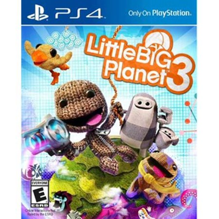 Little Big Planet 3, Sony, PlayStation 4, (Best Little Big Planet Game)