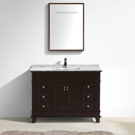 Castillo Series 48 Inch Free Standing Single Sink Classic Bathroom