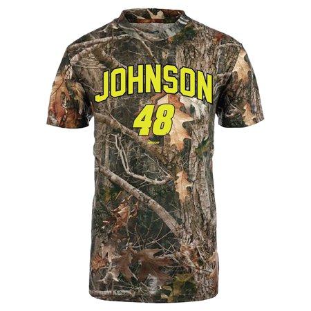 Jimmie Johnson Camo (Jimmie Johnson Youth TrueTimber T-Shirt - Camo )