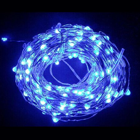 10m 100-LED String Light Lamp Decoration Lighting for Christmas Party Wedding 12V ()