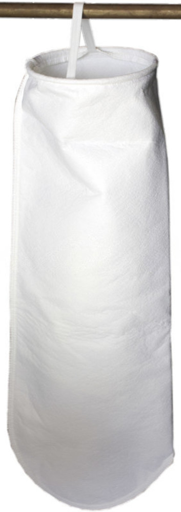 Lot of 2 x 10 Micron 4x8 Singed Polyester Felt Filter Bag PESP3S Size 3