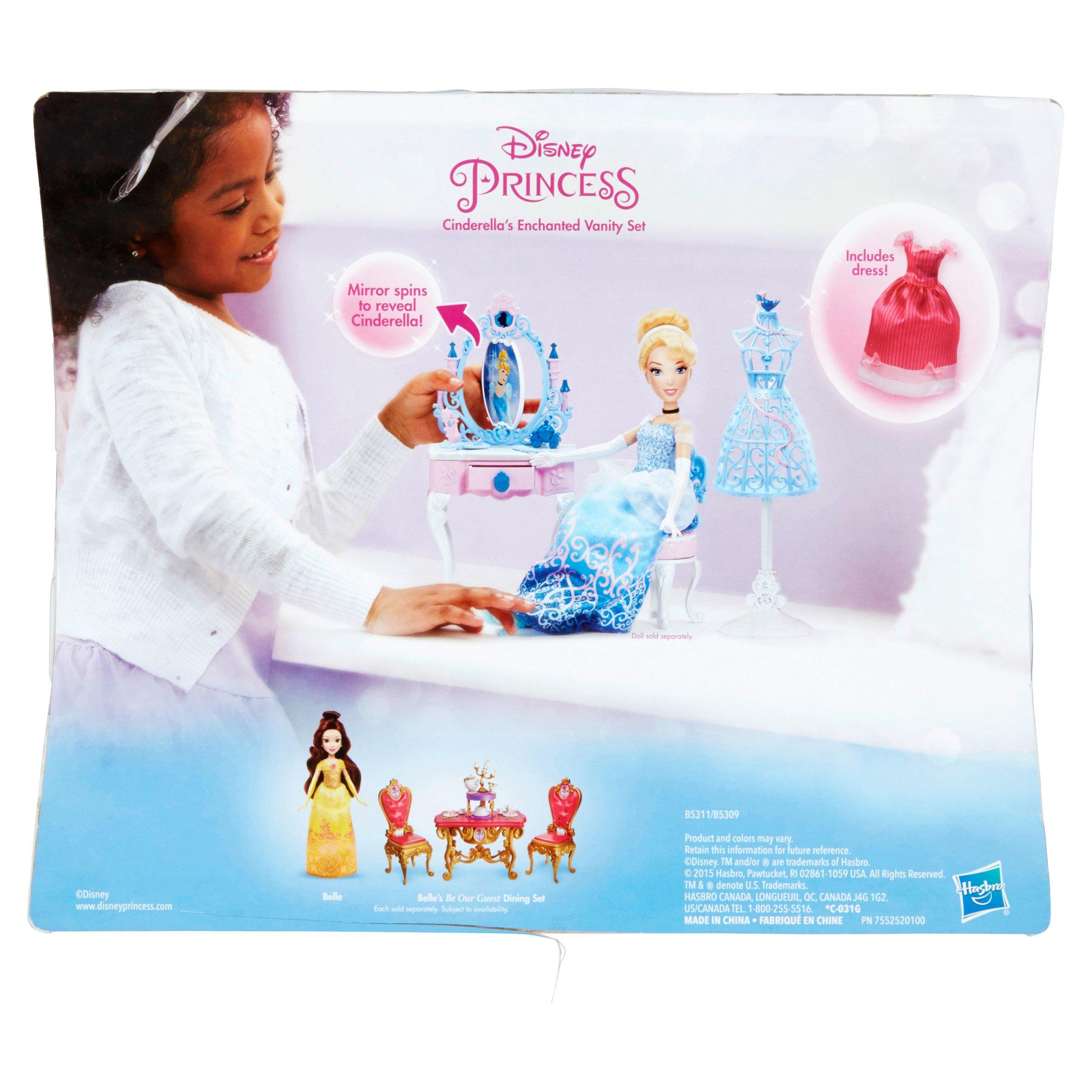 Hasbro disney princess cinderellas enchanted vanity set ages 3 hasbro disney princess cinderellas enchanted vanity set ages 3 walmart watchthetrailerfo