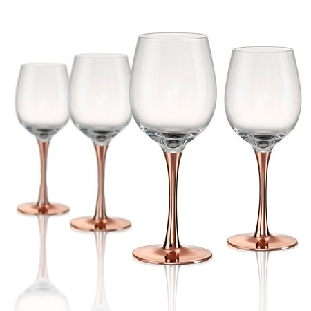 Artland Coppertino Wine Glass Set of 4 by