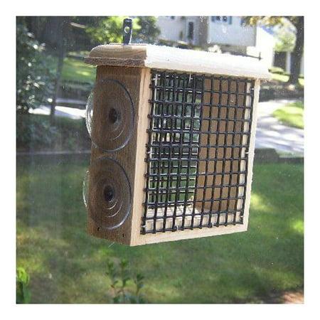 Coveside Conservation Coveside Conversation 22600 Window Suet Bird Feeder