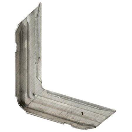 PL 14306 0.75 x 0.25 in. Metal Miter Cut Screen Frame Corner, Pack 100