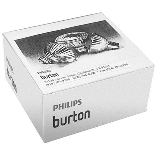 PHILIPS BURTON 0007006PK HAL Light Bulb, MR16, 2-Pin(GX5.3), PK3