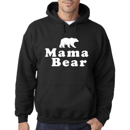 New Way 797 - Adult Hoodie Mama Bear Mother's Day Madre Mom Grizzly Sweatshirt Large - Grizzly Bear Suit For Sale