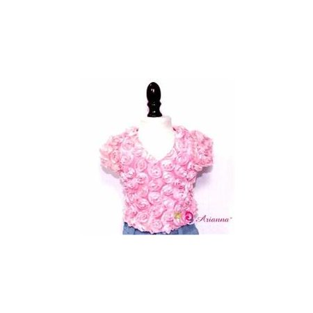 Dream Big DB1005 Runway Roses Top doll clothes Fits Most 18 Inch Dolls