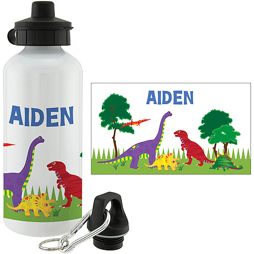 Personalized Dino Water Bottle