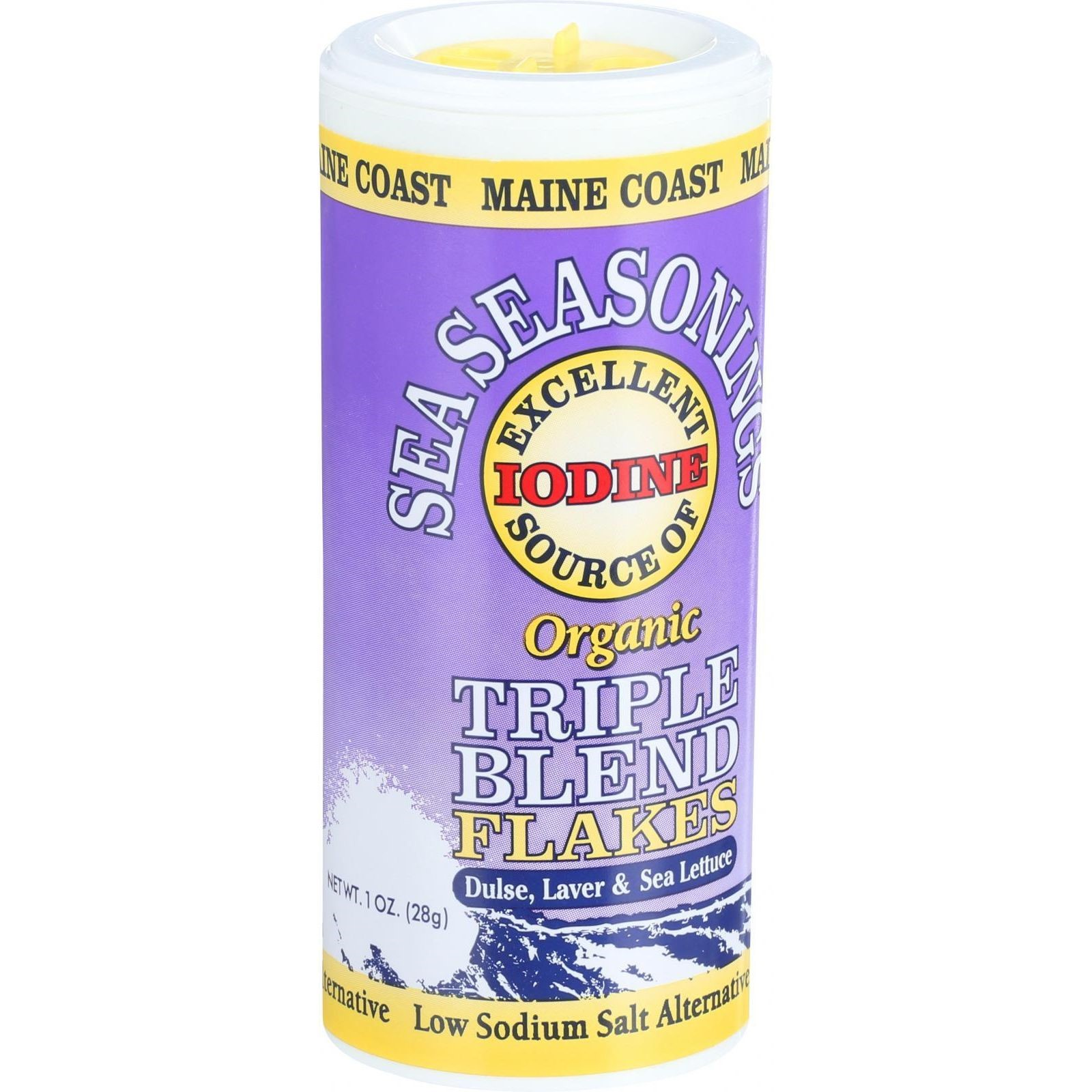 Maine Coast Sea Vegetables Sea Seasonings Triple Blend Flakes, 1 Oz by Maine Coast