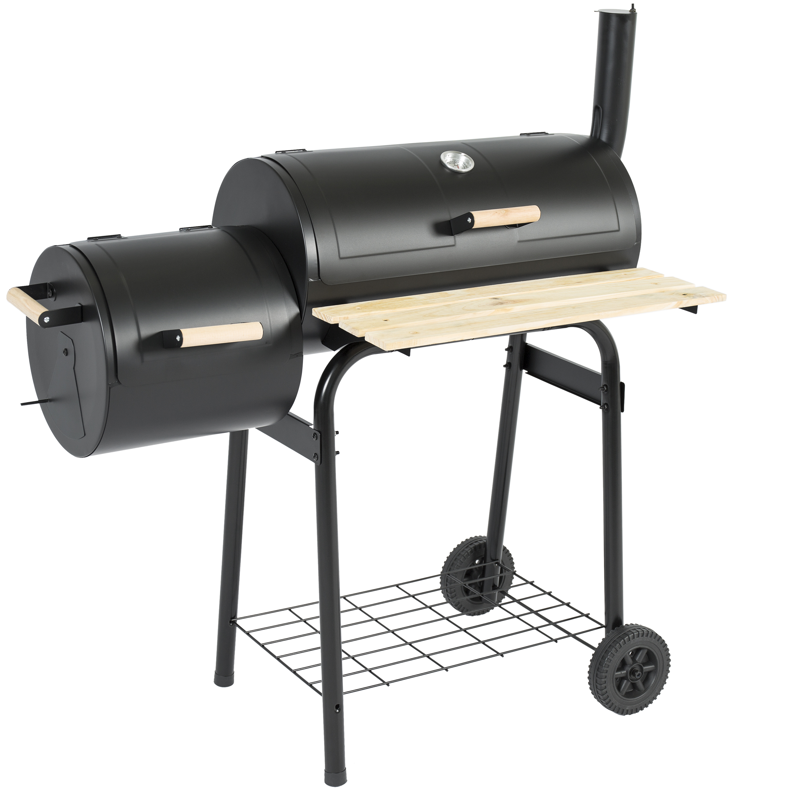 Best Choice Products BBQ Grill Charcoal Barbecue Patio Backyard Home Meat Smoker