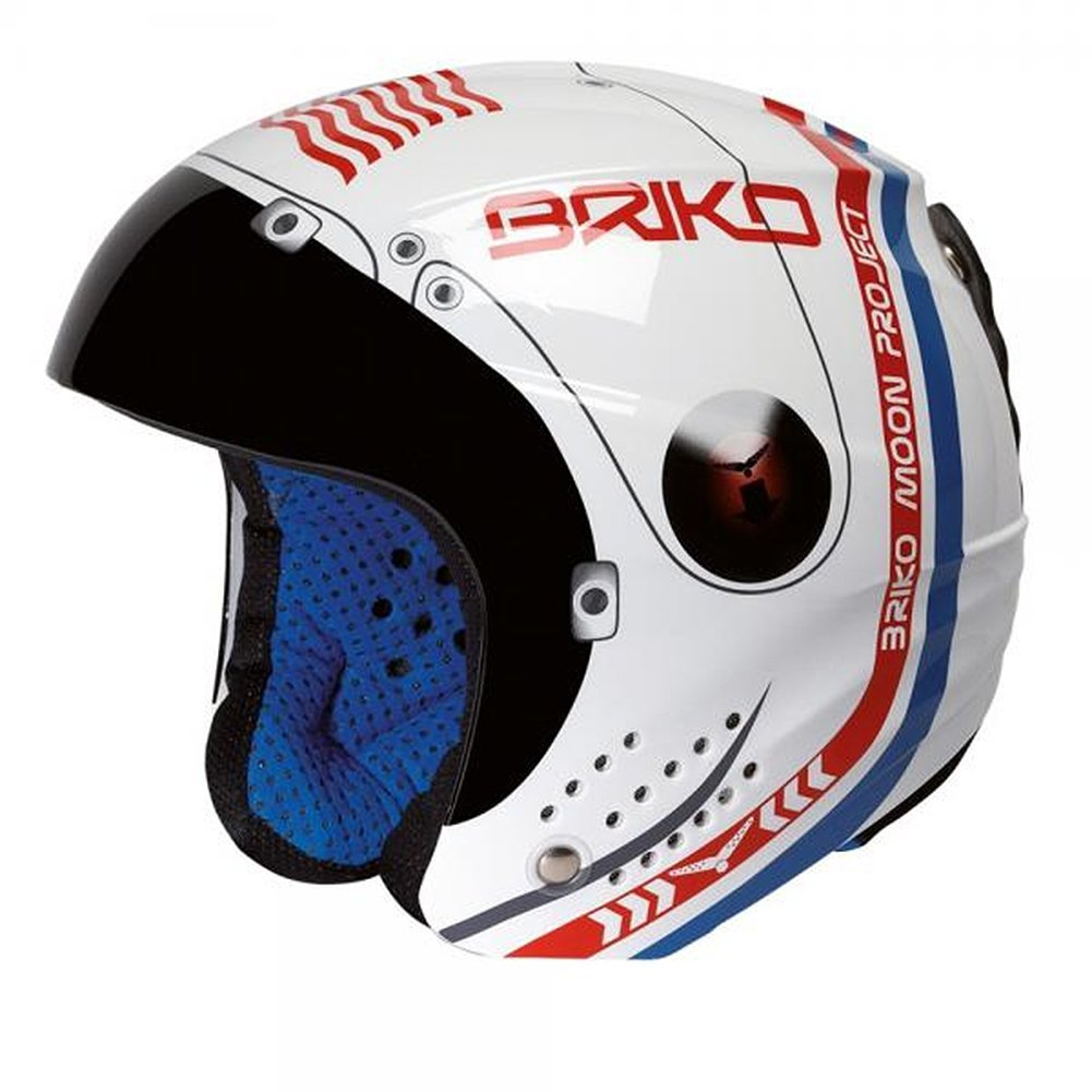 Briko Phoenix Blue Tooth Ready Moon Helmet 56CM by SOGEN SPORTS INC.