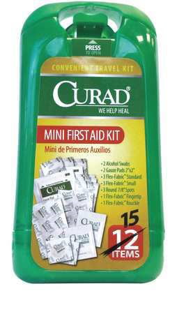 Curad Mini First Aid Kit 1 Each by Medline