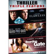 Thriller Triple Feature: Flawless   Quid Pro Quo   Boarding Gate by MAGNOLIA PICT ENT