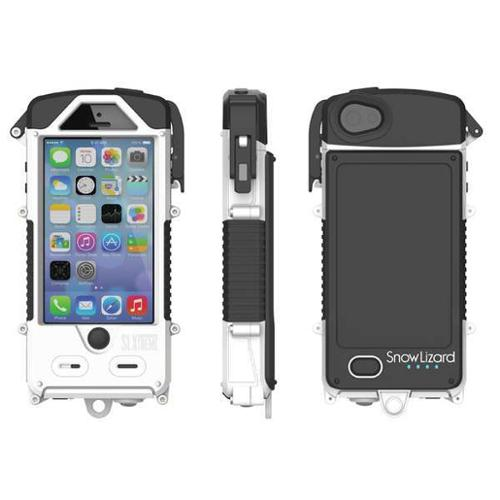 SNOW LIZARD SLSLXAPL05-WH Cell Phone Case,iPhone 5/5S,Winter White