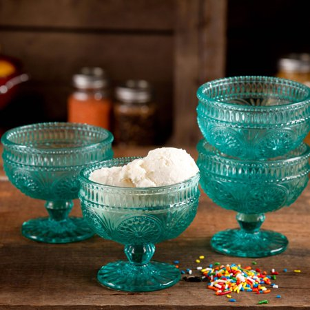 Clear Sundae Cup (The Pioneer Woman Adeline 10 oz Glass Sundae Cups, Set of)