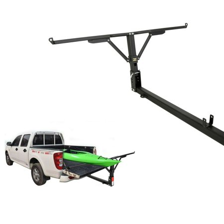"Steel Pick-Up Truck Bed Tailgate Extender Extension Rack 2"" Hitch Receiver 400lb"