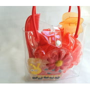 Red Lady Bug Bath Set, Red Lady bug Bath set By Gifts and Beads