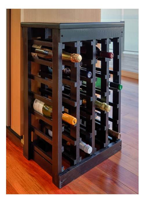 26 in. Classic Wood Wine Rack by Leslie Dame