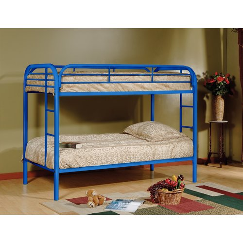 Zoomie Kids Tanner Twin over Twin Bunk Bed