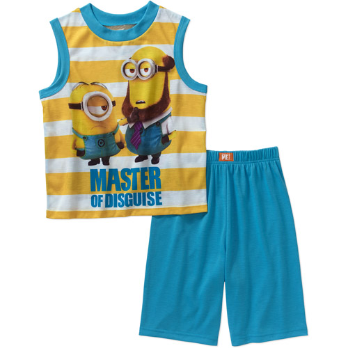 Minions Ap Big Boys Licensed Sleepwear