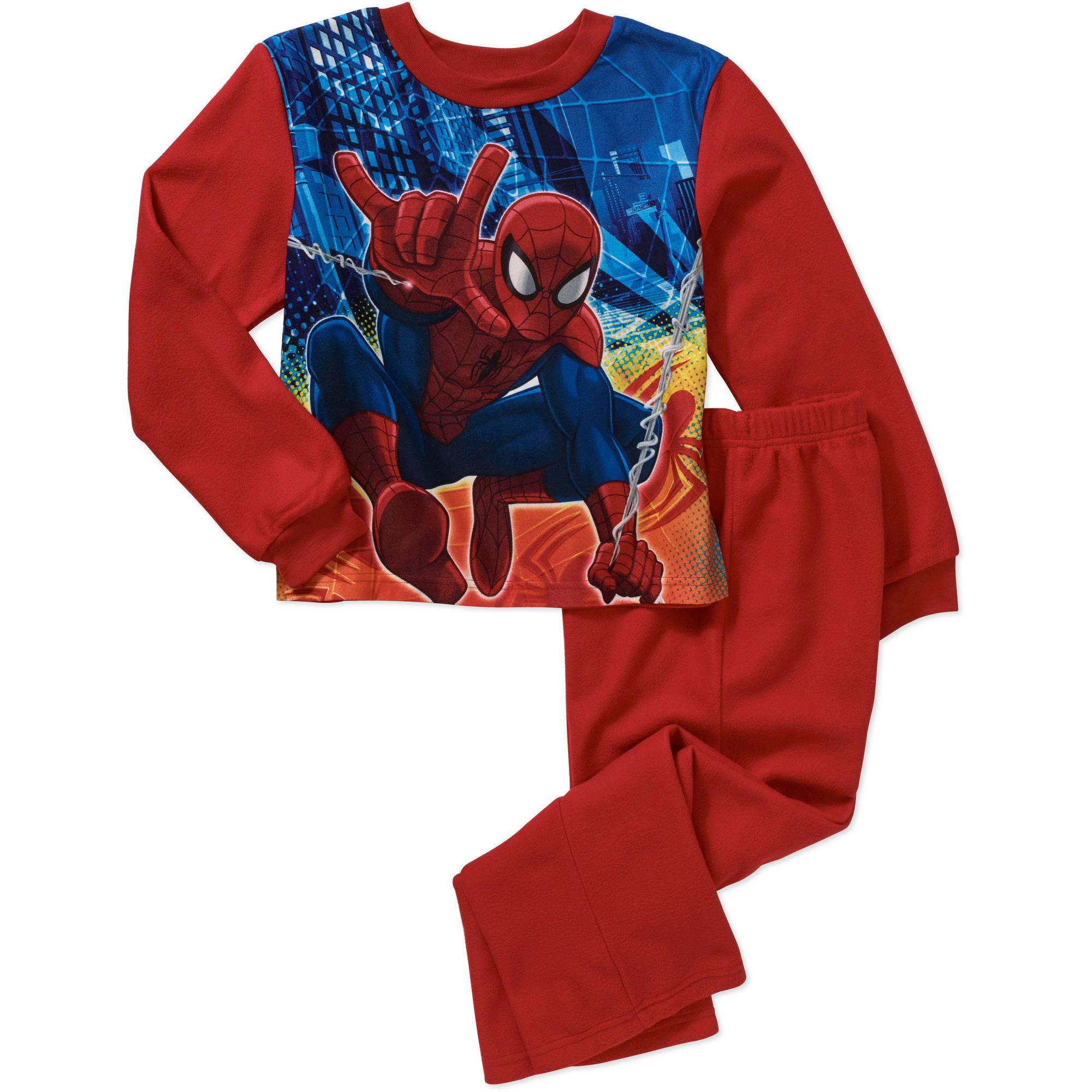 Spiderman Boys' License 2 Piece Pajama Sleep Set