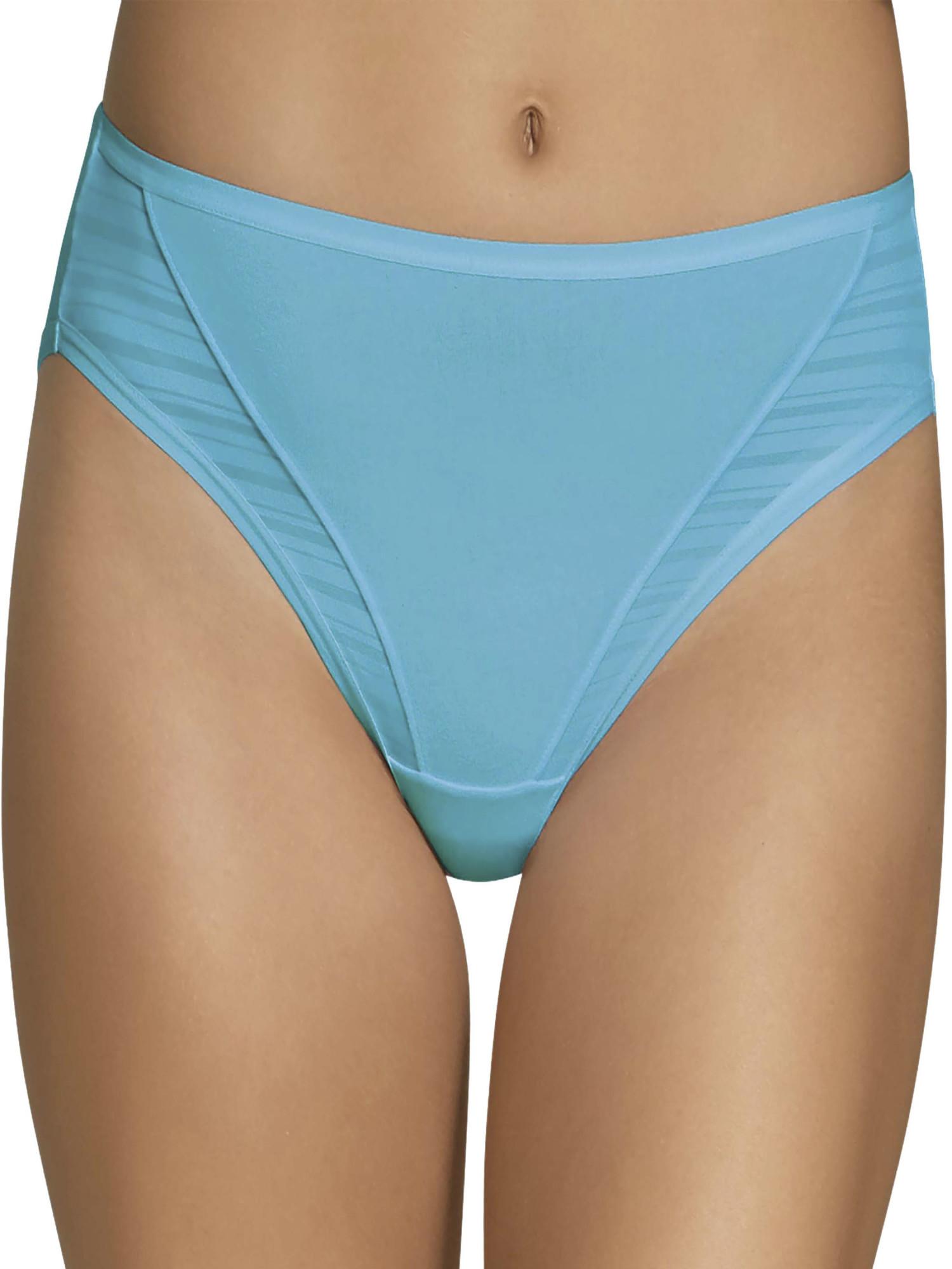 Women's Coolblend Hi-Cut Panties - 4 Pack