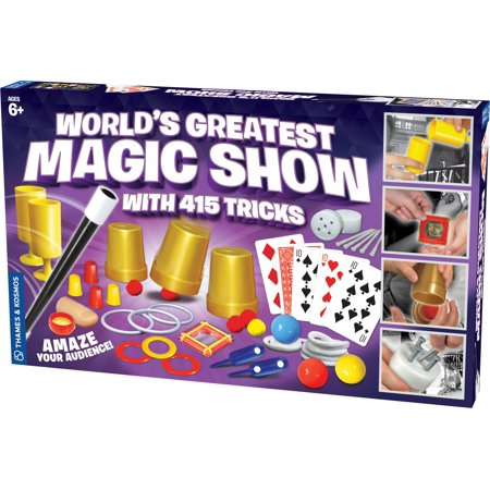 World's Greatest Magic Show (with 415 - Easy Halloween Magic Tricks