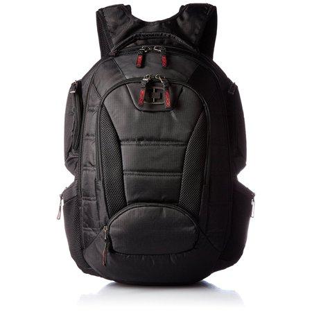 OGIO Bandit 17 Inch Laptop Computer Media Foam Padded Backpack Book Bag, Black (Ogio Stand)