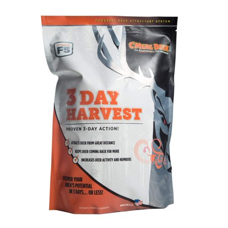 C'mere Deer 3-Day Harvest Deer Attractant, 5.5 lb.