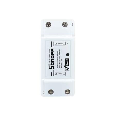 Wireless Wifi Smart Switch APP Control Home Automation Module Timer Smart Switch