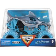 Monster Jam, Official Megalodon Monster Truck, Collector Die-Cast Vehicle, 1:24 Scale