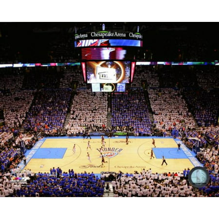 Chesapeake Energy Arena Game 2 Of The 2012 Nba Finals Photo Print