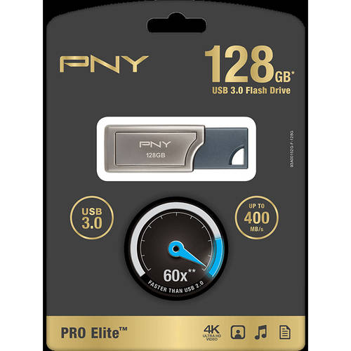 PNY 128GB Pro Elite, USB 3.0
