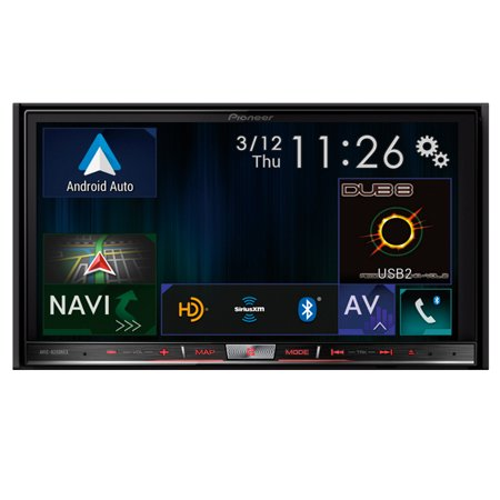 "Pioneer AVIC-8200NEX In Dash Double Din 7"" Touchscreen DVD Navigation Receiver with Apple Car Play and... by"
