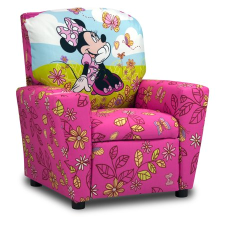Disney Minnie Mouse Cuddly Cuties Kids Recliner - Walmart.com