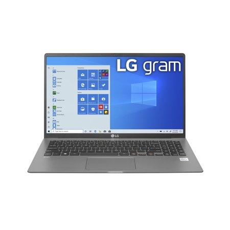 LG gram 15 inch Ultra-Lightweight Laptop with 10th Gen Intel Core Processor w/Intel Iris Plus - 15Z90N-U.ARS5U1