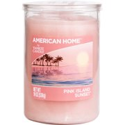 American Home by Yankee Candle Pink Island Sunset, 19 oz Large 2-Wick Tumbler