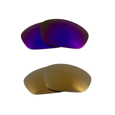 best seek polarized replacement lenses for oakley monster pup gold purple (Best Of Monsters And Men)