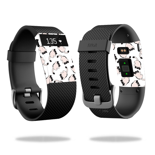 Skin Decal Wrap for Fitbit Charge HR cover skins sticker watch Raining