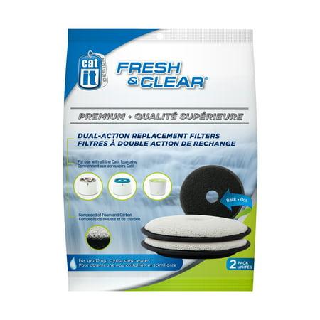 Catit Fresh & Clear Repl. Filters (2PK)