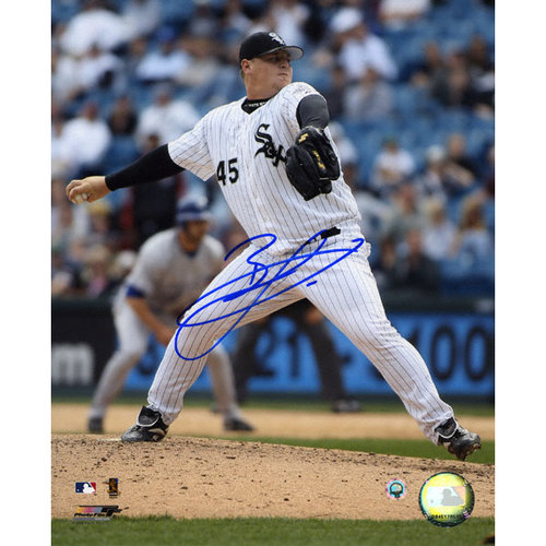 MLB - Bobby Jenks Chicago White Sox 8x10 Autographed Photograph
