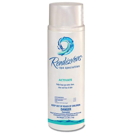 Rendezvous Spa Specialties Activate Chlorine Free Oxidizer System, 2.2 Pounds