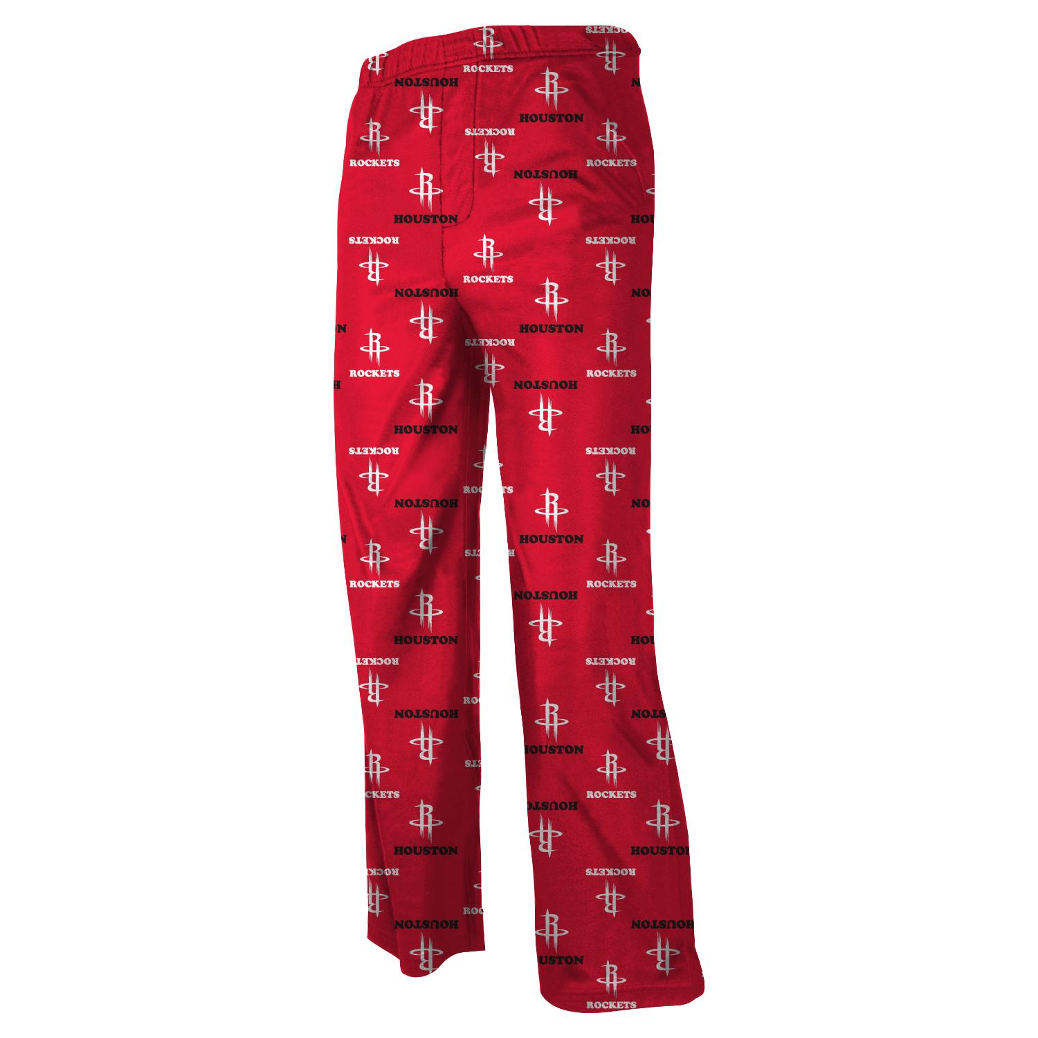 Houston Rockets Youth NBA Team Logo Pajama Pants by Outerstuff