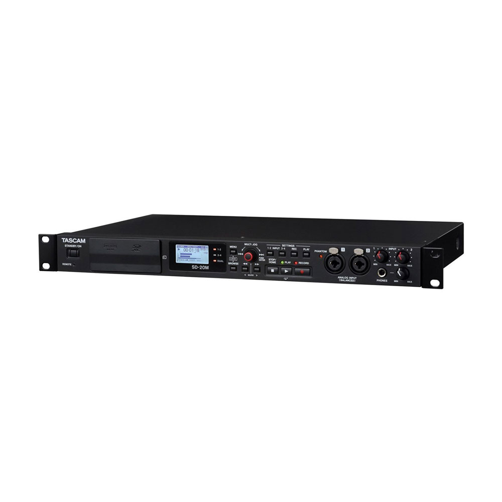 TASCAM SD-20M Channel Digital Multitrack Recorder