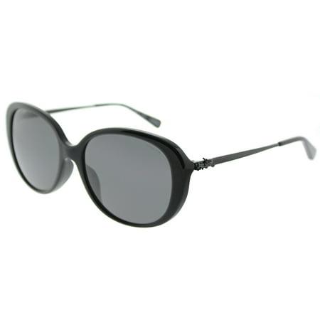 ff62ab9b Coach - Coach Asian Fit L1651 HC 8215F 548287 Womens Oval Sunglasses ...