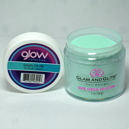 Glam and Glits GLOW ACRYLIC Glow in the Dark Nail Powder 2018 - DAWN ON ME