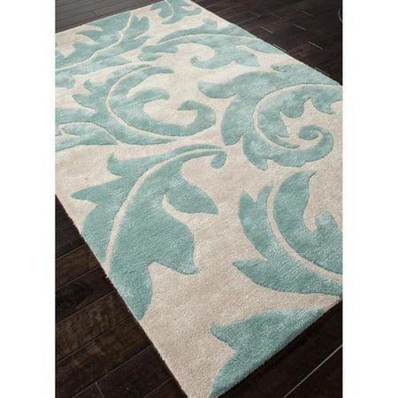 Aloha 40 Inches Home Decor - Jaipur Aloha Transitional Wool/Silk Tufted Rug