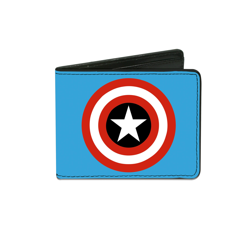 Buckle Down  Men's Marvel Captain America Billfold Wallet